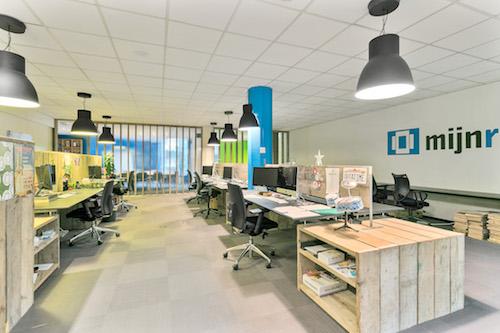 Een nieuwe kantoor, van 30m2 naar 130m2